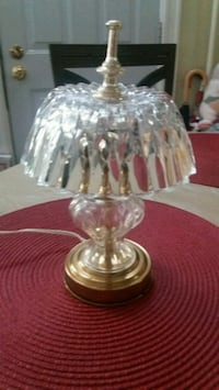 SMALL GLASS LAMP