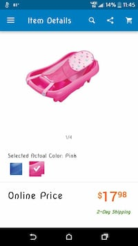 Pink baby bathtub *NEW* Murfreesboro, 37130