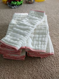 Cloth Diapers (11) Prefolds-