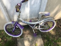 toddler's purple and white bicycle Mississauga, L5G 3R5