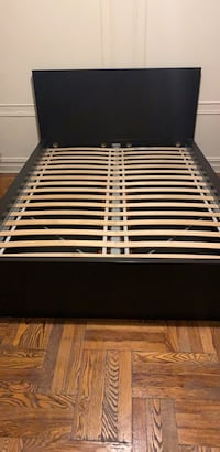 Bed  with  drawers for storage (Ikea)