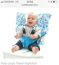 baby's blue and white floral onesie screenshot Saint-Jean-sur-Richelieu, J2W 0G2