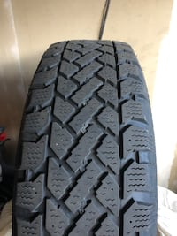 Winter tires 215/65R16 with rims