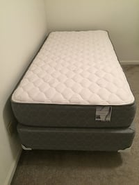 Spring mattress (twin) with bed box and bed stand Athens, 30606