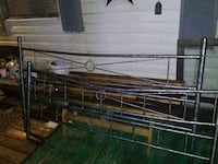 bed frame king size to full rails no matresses Gladys, 24554
