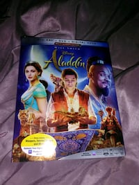 Will Smith Disney's Aladdin Blue Ray And Dvd