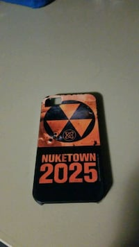 Black Ops Nuketown 2025 Iphone 4 Case
