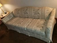 gray and white floral fabric 2-seat sofa Buffalo, 14219