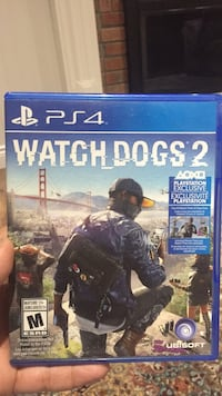 Watch dogs 2 ps4 game case Ajax, L1S 5L8