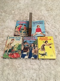 Six vintage Susan hardcovers by Jane Shaw