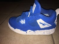 Custom air Jordan 4s size 5  North Las Vegas, 89081
