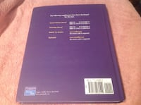 Statistics textbook and student solutions manual. McClave Sincich Calgary, T2C 0P5
