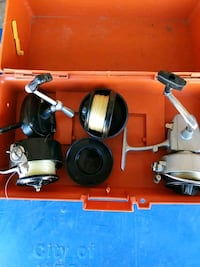 Fishing reels, two