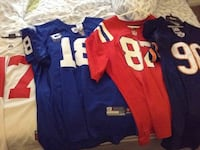 blue and red NFL jersey shirts Middletown, 45044