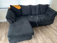 Ashley furniture couch with movable chaise  Arlington, 22206