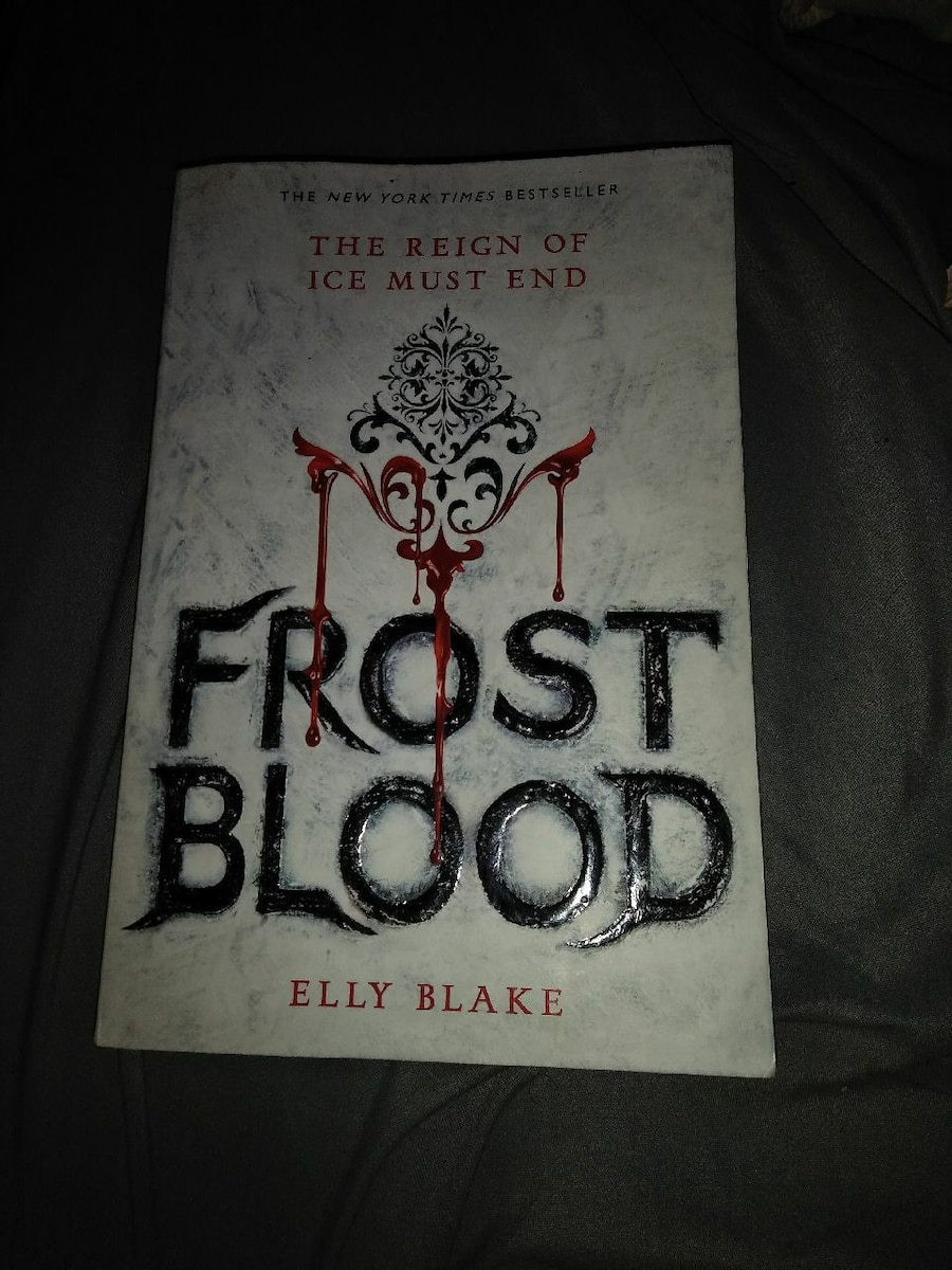 Used, Frost Blood Elly Blake book for sale  Clarksburg