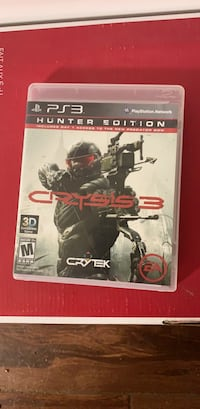 Crysis 3 (Hunter Edition) for PS3 Washington, 20016