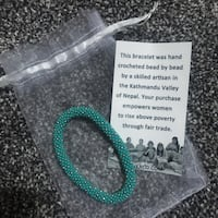 Sea foam green bracelet  Lincoln, 68516