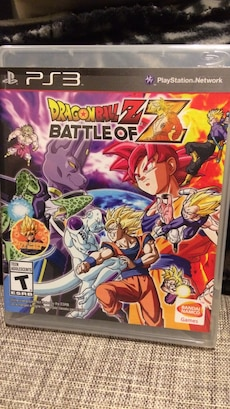 Ps3 Dragonball z kamp av z