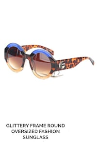 brown and black framed sunglasses North Miami, 33161