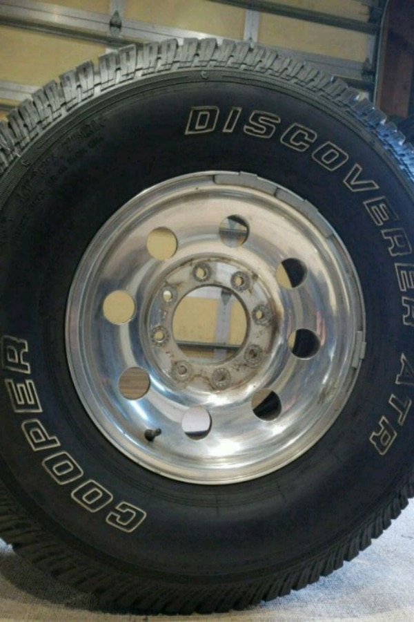 d285da06c71 Used Four tires and rim for f350. Size 285  75R16 for sale in Oceanside -  letgo