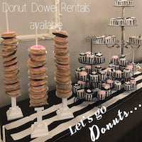 Donut Dowels - Sweet Table Decor Mississauga