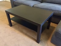 Black wooden coffee table Tempe, 85281