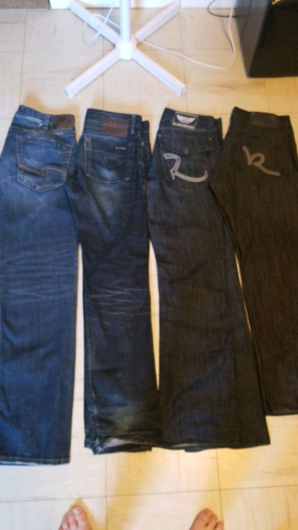 Mens jeans. $20.00/pair or $60.00 for all