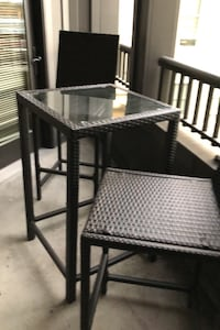 Pub height indoor outdoor table with 2 chairs Hampton, 23666