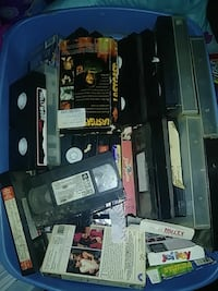 assorted movie VHS tapes Graniteville, 29829
