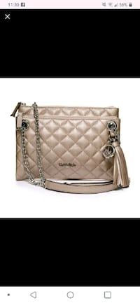 Leather Quilted Handbag/Crossbody Lawrenceville, 30044