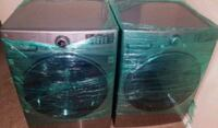 two black front-load clothes washer and dryer set Houston, 77005