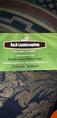 Lawn mowing Huber Heights