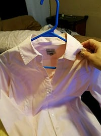 white and blue polo shirt Mission, 78572