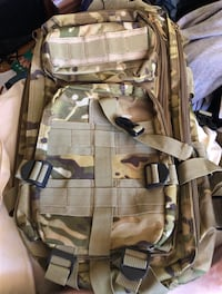 Army Style Tactical Backpack For Camping or Hiking, NEW 2386 mi