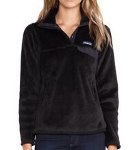 Black Patagonia Snap Retool Pullover Womens Small Myrtle Beach, 29579