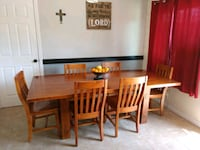 Large family table with 6 chairs Vista, 92083