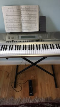 casio keyboard and pedal 42 km