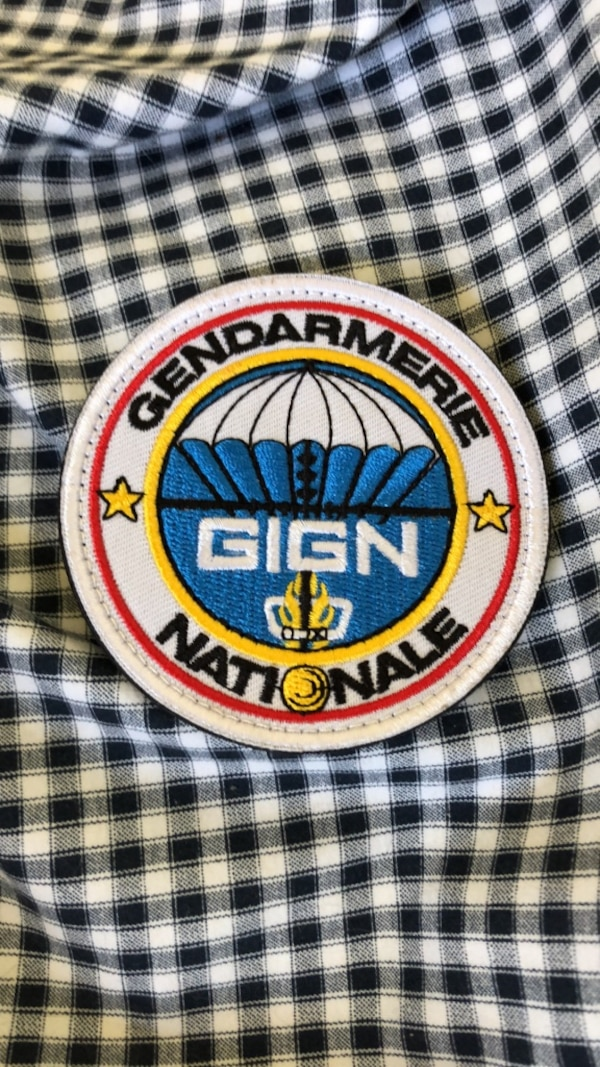 GIGN Velcro Patch