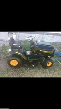 black and yellow ride on lawn mower Alamo, 78516
