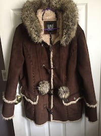 Fake fur and suede Coat  Mississauga, L5E 2G5