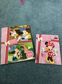 Minnie Mouse books. story book and coloring book. Asheboro, 27317