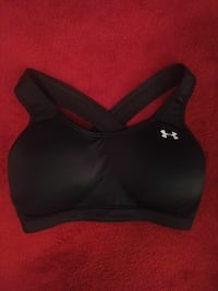 women's black Under Armour sport bra Enterprise, 36330