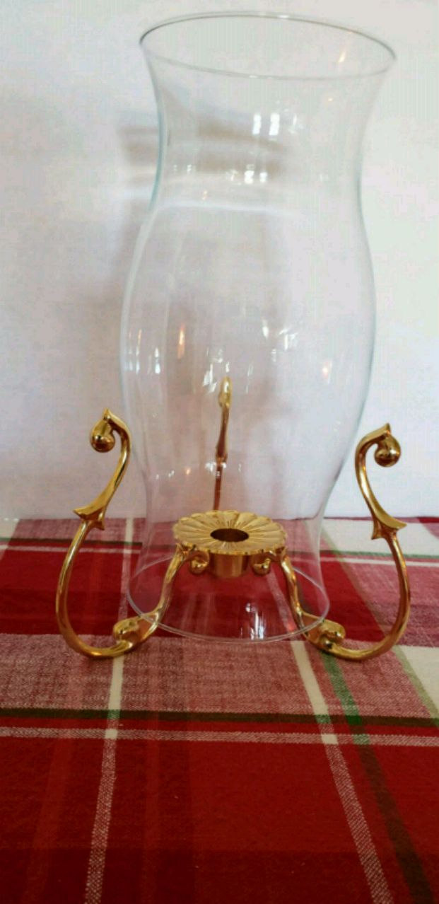 used partylite hurricane shade with gold stand for sale in palmdale rh us letgo com