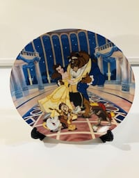 "Knowles Collectible Beauty Beast Disney Plate ""Love's First Dance"" Toronto, M6C 2L7"
