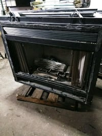 Natural gas fireplace very good condition Harrison, 07029