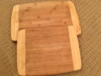 2 Thick Wooden Cutting boards