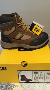 Brand new Cat's Work boots