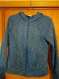 Danskin Now Zip up Women's Hoodie sz M (8-10) Maxwell, 50161