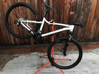 2017 Specialized's Jynx woman's Bike small/medium frame front and rear disc brakes 27.5 wheels and tires excellent condition white color 27.5 wheels (no trade available)???